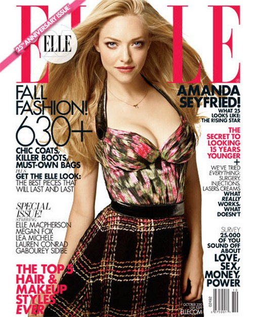lauren conrad elle magazine cover. Elle Magazine Covers for 25th Anniversay Issue