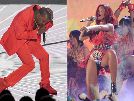 rihanna and kanye west all of lights. Kanye#39;s official video for: